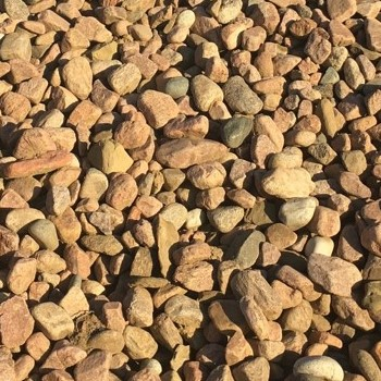 Red 2-4 Inch River Rock